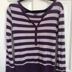 Roxy Striped Long-Sleeve